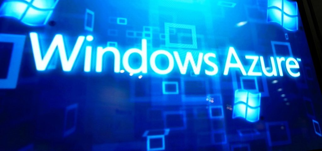Windows Azure Lettering